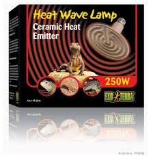 exo terra 250 watt ceramic bulb for sale
