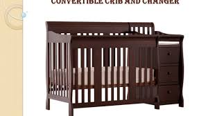 Storkcraft Bunk Bed by Stork Craft Portofino 4 In 1 Convertible Crib With Changer Fixed
