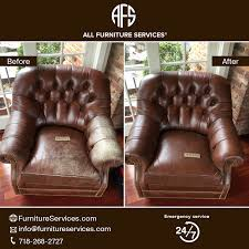 Furniture cleaning headrest leather damage vinyl restoration