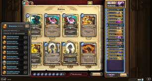 priest deck hearthstone hs pro deck feed on windello s combo priest