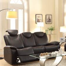 Tribecca Home Uptown Modern Sofa Grey by Living Room Home Movie Theater Seats Power Recliner Chairs