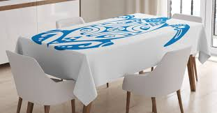 Turtle Tablecloth, Hawaiian Underwater Creatures Endangered Maui Animals  Simplistic Design, Rectangular Table Cover For Dining Room Kitchen, 60 X 84  ... Langston Ding Chair Amazoncom Ding Table Runner Or Dresser Scarf Hawaiian New Kauai Fniture Condo Packages From Island Collections Queen Kaahumanu Suite Luxury Hotel Royal Tropical Decorating Ideas Trend Garden 31 Best Restaurants In San Francisco Cond Nast Traveler Mikihome Chair Pad Cushion Wooden Skyline Slipcover Cari Garden Rose Casa Padrino Miami Flowers Leaves Black White Multicolor 45 X Cm Finest Velvet Living Room Decorative Pillow Flying Pig Hawaii Koa Extension Room Tables Can Be Purchased