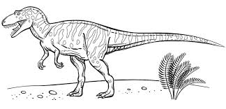 Velociraptor Coloring Pages Printable