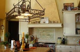 terrific kitchen lighting with pot rack using warm white