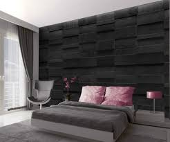 fototapete steinwand schwarze marmorquader 315 x 232 cm 4 teilig