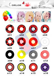 Halloween Colored Contacts Non Prescription Cheap by The Color Nine Series Of Circle Lens Is Available In 9 Captivating