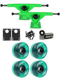 RKP Green Longboard Trucks Wheels Package 58mm X 36mm 83A 341C Green ... Uerstanding Longboards Trucks Core 60 Raw Longboard Wheels Package 70mm Sliding Top 10 Best In 2018 Reviews Buyers Guide Penny Nickel Board Avenue Suspension Trucks Shark Wheels Bones Mini Logo Ready To Roll Truck Sets Bearings Online Shop Puente 2pcs Set Skateboard With Skate Amazoncom Combo Paris Trucks Blue Wheels Bearings Drop Through Diy How To Assemble Your And The Arbor Axis Hablak Artist 40 Complete Black Paris 50 Degrees 165mm Savant Longboard Hopkin Discover European Wheel Brands Magazine Europe
