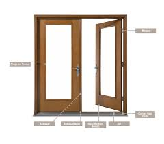 Therma Tru French Doors by Therma Tru Common Replacement Parts For Doors Grand Banks