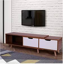 lebeauty tv ständer aus holz einfache moderne