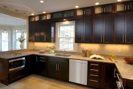 Dark Cabinets Kitchen DecorKitchen