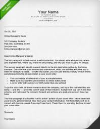 How to Write a Great Cover Letter 40 Templates