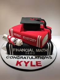 Schulabschluss Cupcakes Text Book Graduation Cake On Central Geburtstag Abitur Einschulung Kreatives