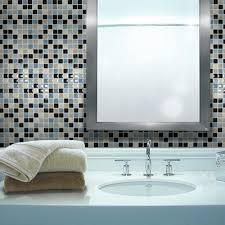 smart tiles mosaik 3x3 mosaic tile in multi wayfair home wish