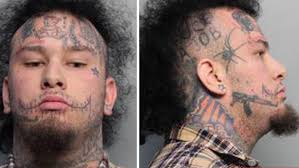 Of Course The Rapper With Face Tattoos Got Arrested For Giving Marijuana To A Cop