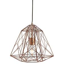 Geometric Pendant Light Shade Lamp Diy Copper Ceiling