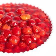 fruchtiger low carb erdbeerkuchen