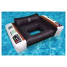 Star Trek Captains Chair by Bigmouth Inc Giant Star Trek Captain U0027s Chair Pool Float 4 Feet