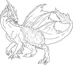 Coloring Pages Dragons Free Printable Dragon For Kids Images