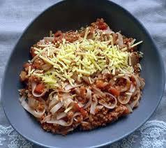 cuisine sans viande recette de pâtes bolognaise sans viande