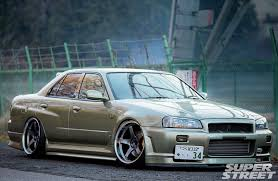 2000 Nissan Skyline GT T Four Doors are for Real Men
