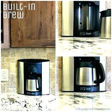 In Wall Coffee Maker Espresso Machine Via Miele