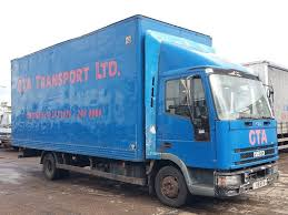 2000 IVECO CARGO 75E15 7.5 TONNE 20FT BOX TRUCK MANUAL FUEL PUMP ...