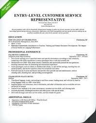 Good Resume Titles For Entry Level Title Examples Customer Service 6
