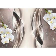 details zu fototapete blumen orchidee vliestapete braun wohnzimmer schlafzimmer modern