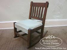 mission oak chair ebay