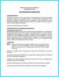 Auto Mechanic Resume Automotive Technician Objective Sample Of 38