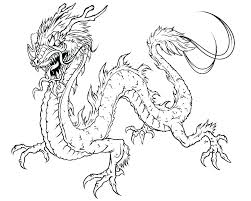 Dragon Coloring Page Pages Printable Free Detailed Colouring