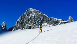 ski de randonnée bosse de la momie ecrins prestige