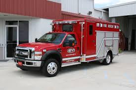 100 Rescue Truck Crew Body Light Center Ossipee Fire Dept EVI