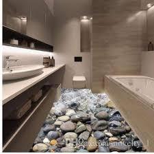 großhandel 3d wandaufkleber badezimmer boden strand stein kinderzimmer wandaufkleber wohnkultur kunst aufkleber wand poster novelty 1 15 74 auf