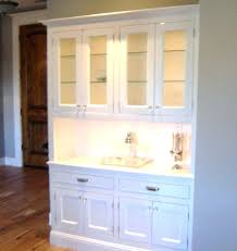 Mirrored Hutch Sideboard Buffet Classic Cabinets White Dining Room And