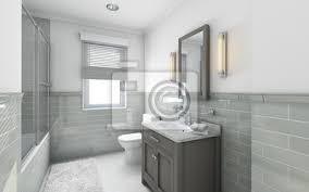 fototapete moderne badezimmer in landhaus