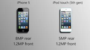 iPhone 5 vs iPod touch 5G