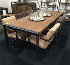 salle à manger style industriel decoration style