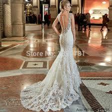 Vestidos De Novia Bridal Gown Rustic Women Korean Vintage Sexy Mermaid Wedding Dress Gothic Lace Backless