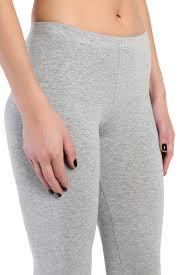 themogan essential basic plain cotton spandex low rise ankle