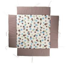 geuther tour de parc avec tapis pois pour parc belami 102 x 102