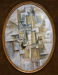 Still Life With Chair Caning Wikipedia by Pablo Picasso 1911 12 Violon Violin Oil On Canvas Kröller