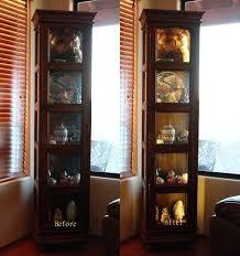 curio cabinets with lights pnashty