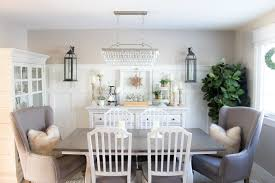 How To Create A Farmhouse Style Dining Room In Just One Weekend