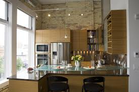 kitchen lighting track for empire white mission shaker bamboo