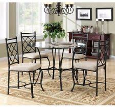 Round Dining Room Set For 4 by Round Kitchen Table Set Ebay