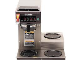 BUNN 129500212 CWTF15 3 Automatic Commercial Coffee Brewer With Lower Warmers