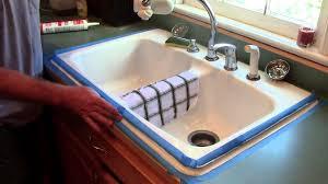 backsplash seal around kitchen sink caulking around a kitchen