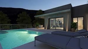 modern villa with pool in pedregeur costa blanca
