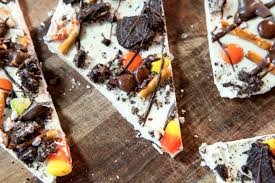 Halloween Pretzel Sticks by Halloween Bark Lake Shore Lady